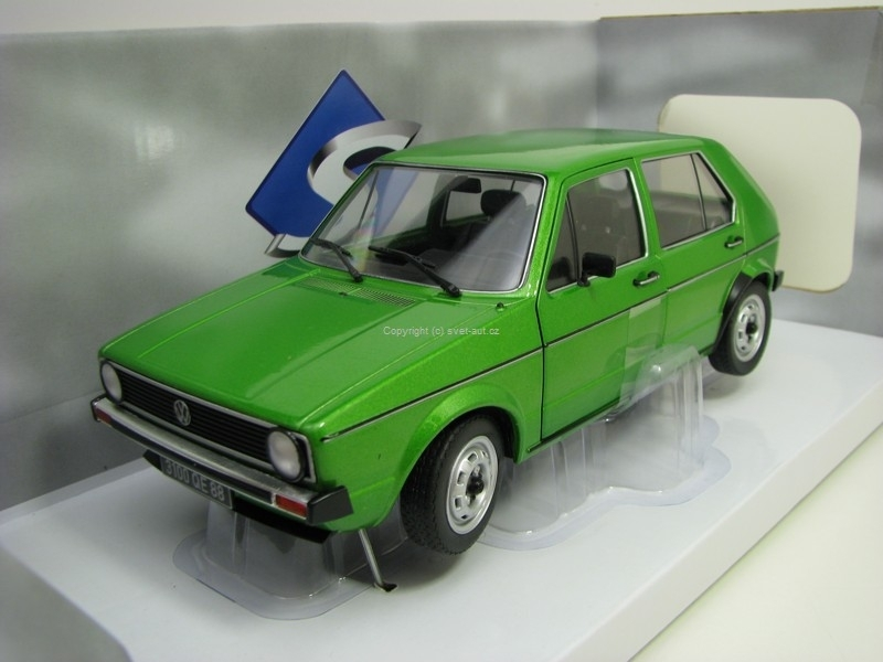 Volkswagen Golf 1 Cl Viper Green 1:18 Solido